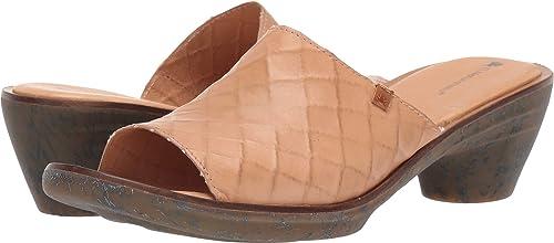 El Naturalista N5351 N5351 N5351 VAQUETILLA Wood Aqua Cuir Femme Sandales élastique 070