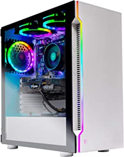 Skytech Archangel Gaming Computer PC Desktop – RYZEN 5 2600 6-Core 3.4 GHz, GTX 1660 6G, 500GB...