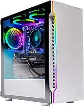 Skytech Archangel Gaming Computer PC Desktop – Ryzen 5 3600 3.6GHz, RTX 2070 8G, 500GB SSD, 16GB DDR4 3000MHz, RGB Fans, Windows 10 Home 64-bit, 802.11AC Wi-Fi