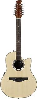 Ovation Applause Guitarra Electro-Acústica Mid Cutaway natural AB2412II-4, 12 string
