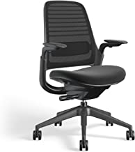 Steelcase 435A00 Series 1 Work Office Chair, Licorice