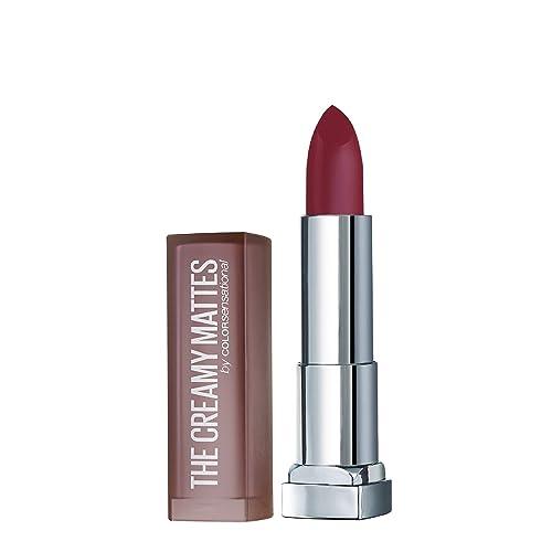 Maybelline New York Color Sensational Creamy Matte Lipstick, Pretty Please, 3.9g