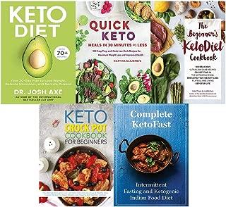 Keto Diet, Quick Keto Meals in 30 Minutes or Less, Beginner's KetoDiet Cookbook, Keto Crock Pot, Complete KetoFast 5 Books Collection Set