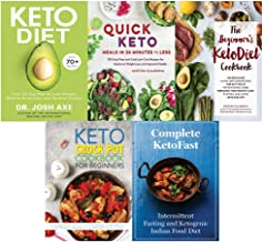 Keto Diet, Quick Keto Meals in 30 Minutes or Less, Beginner's KetoDiet Cookbook, Keto Crock Pot, Complete KetoFast 5 Books Collection Set