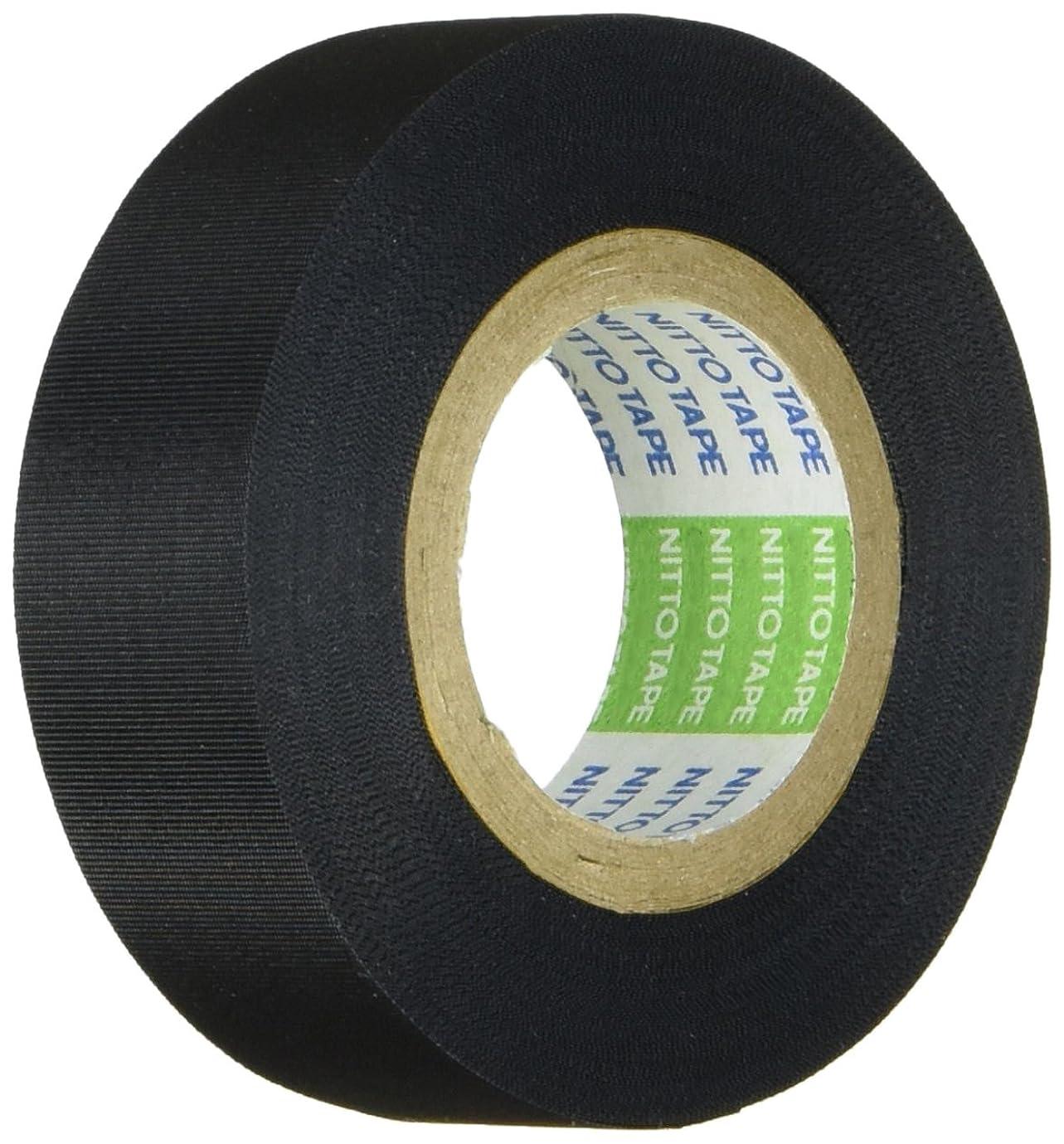まつうら工業 A種絶縁用、結束用 日東アセテート布絶縁テープ#5 幅19mm 長さ10m 黒