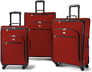 Luggage AT Pop 3 Piece Spinner Set (One Size, Red)