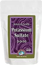 Down to Earth OMRI Organic Solution Grade Potassium Sulfate 0-0-50, 1 lb