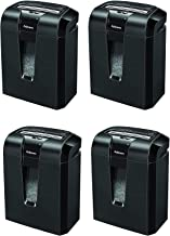 $7439 » Fellowes Powershred 63Cb 10-Sheet Cross-Cut Paper and Credit Card Shredder with Jam Blocker Technology (4600001) (Pack of 4)