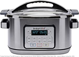 Instant Pot Aura Pro 11-in-1 Multicooker, Slow Cooker, Rice Cooker, Grain Maker, Steamer,..