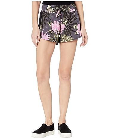 Hurley Printed Beach Shorts (Antrhacite) Women