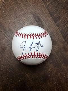 San Francisco Giants Jeff Samardzija Autographed Signed Baseball Mlb All Star Beckett COA