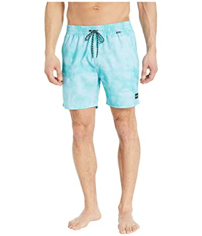 Hurley 17 Paradise Volley Boardshorts (Aurora Green) Men