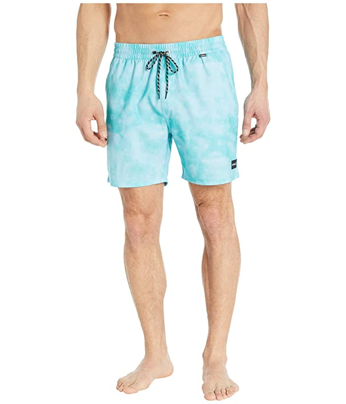 Hurley  17 Paradise Volley Boardshorts (Aurora Green) Mens Swimwear
