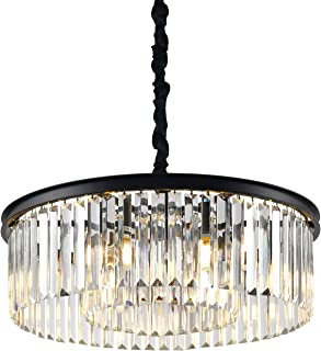 Crystal Chandelier Lighting Dining Room 6 Lights W22