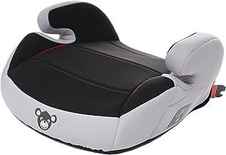 schwarz grau HEYNER/® Sitzerh/öhung mit Isofix Autokindersitz Gruppe 3 Kindersitzerh/öhung mit Gurtf/ührung