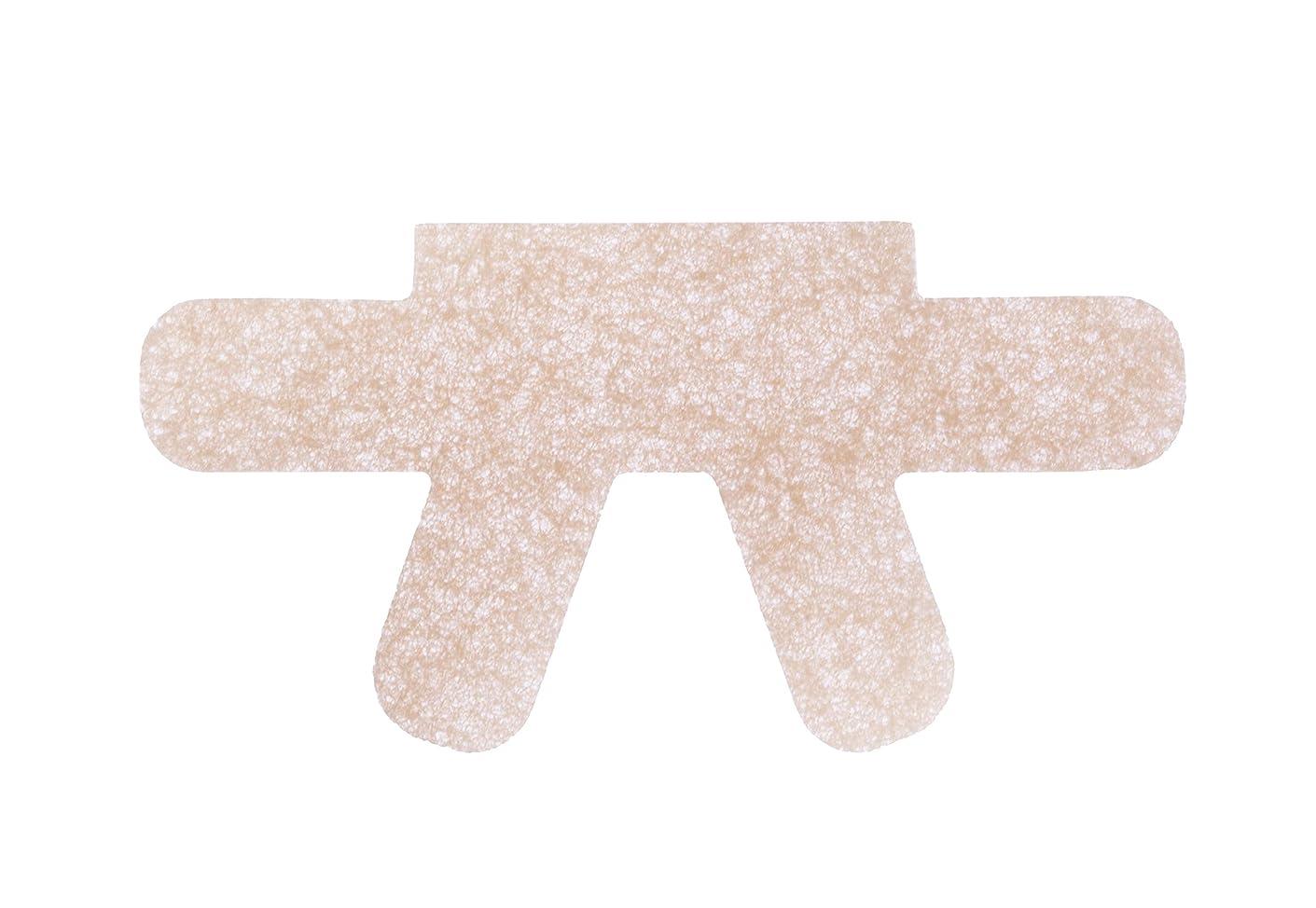 細菌ワイプ乳白色簡単貼るだけ 巻き爪食い込みガードテープ