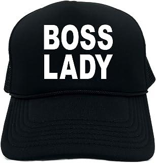 34b433ddb7f65 Funny Trucker Hat (BOSS LADY) Unisex Adult Foam Retro Cap