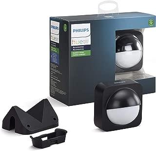 Philips Hue Dusk-to-Dawn アウトドアモーションセンサー スマートホーム用 ワイヤレス & 簡単取り付け (ハブ必要 フィリップスヒュースマートライトとの使用)