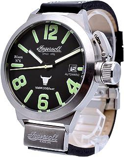 インガーソル 腕時計 自動巻き 限定生産品 52mm BISON NO. 6 IN8900SBK [並行輸入品]