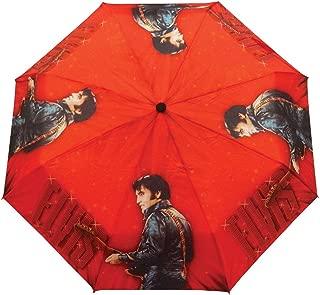 Elvis Presley Foldable Umbrella 68' Name In Lights