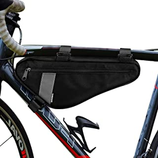 Allnice Bike Triangle Frame Bag 1.5L Bicycle Bag Triangle Pack Pouch Bike Storage Bag Water Resistant