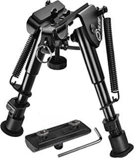 CVLIFE Bipod with M-LOK Mount Adapter 6-9 Inches