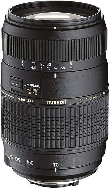 Tamron A17NII - Objetivo para Nikon (70-300mm f/4-5.6 Macro AF 62 mm) color negro