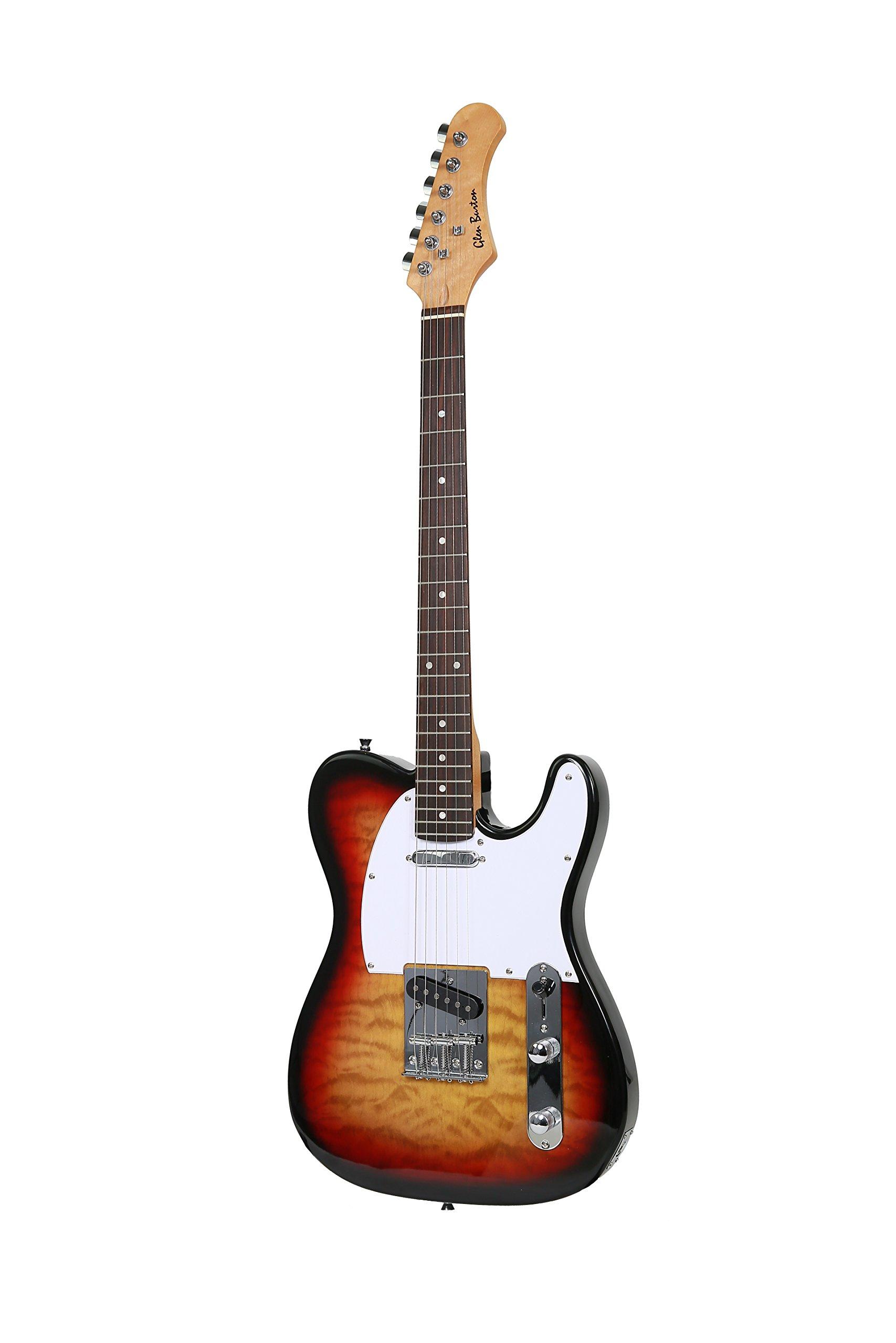 Cheap Glen Burton GE39-TLQ303-TS X-Series TL Style Electric Guitar Black Friday & Cyber Monday 2019