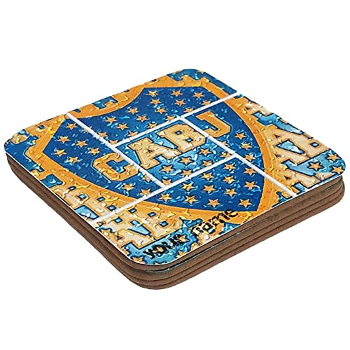 9ec581792f3 Personalized Custom Wood Coaster Glossy Argentina Futbol Football Soccer  League