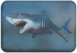 Cute Doormats The Shark Cool Personalized Door Mats Indoor Door Mats Pattern Novelty Doormat Decorative Bathroom Bedroom K...