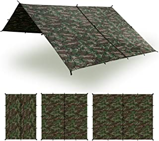 Aqua Quest Safari Tarp - 100% Waterproof Lightweight SilNylon Bushcraft Camping Shelter