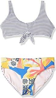 Maaji Girls' Bralette with Keyhole Bikini Swimsuit Set