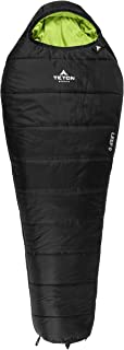 LEEF Lightweight Mummy Sleeping Bag; Great for Hiking, Backpacking and Camping; Free Compression Sack