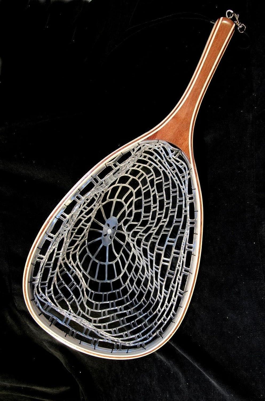 Stone Creek Ghost Net aus Holz mit Gummi Net–Fliegenfischen
