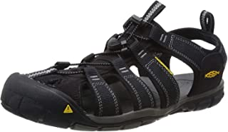 KEEN Men's Clearwater CNX Sandal,Black/Gargoyle,10 M US