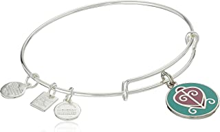Alex and Ani Womens Charity by Design - The Way Home Expandable Charm Bangle Bracelet