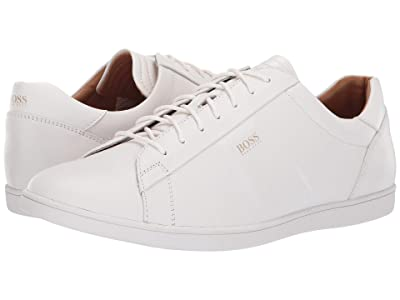 BOSS Hugo Boss Rumba Leather Sneaker By BOSS (White) Men