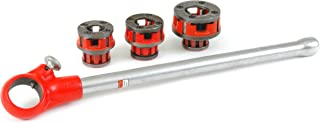 Ridgid 36375 1/8-Inch to 1-Inch Capacity Manual Exposed Ratchet Theader Set