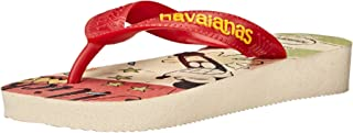 Havaianas Flip Flops Sandals Kids, Disney Stylish, Mickey Minnie, (Toddler/Little Kid)