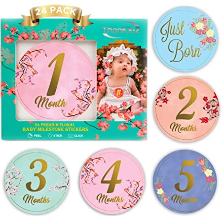 Baby Monthly Milestones set Babys First Year New Baby Gift Baby gift