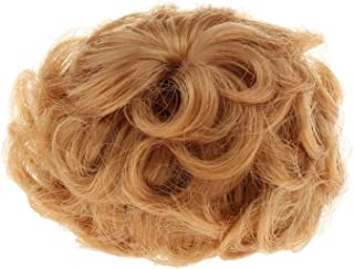 Generic Synthetic Mohair 1/8 Doll Shor Curly Wig Hair for Lady Doll Hair Styling