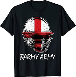 England Cricket 2019 Barmy Army English Fans Supporter Kit T-Shirt