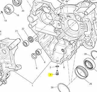 Ducati OEM Oil Drain Plug 89320062A Diavel Monster Streetfighter Scrambler