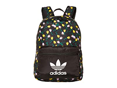 adidas Graphic Backpack (Floral/Black) Backpack Bags