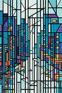 The Wet Citys Blaze of Lights Pop Art Cool Wall Decor Art Print Poster 24x36