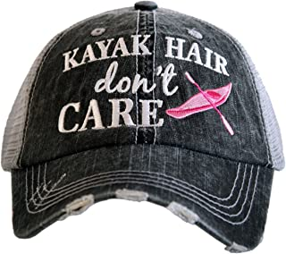 Kayak Hair Don't Care Women's Trucker Hat