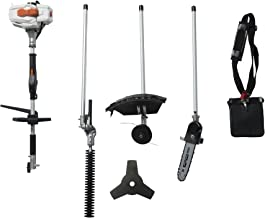 26CC 2 Cycle 4 in 1 Multi Tool with Grass Trimmer Attachment, Hedge Trimmer Attachment ,..