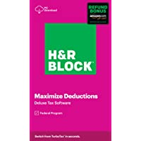 Deals on H&R Block 2020 Tax Software On Sale from $14.99
