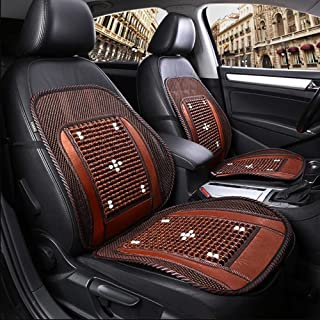 RUIX 1pcs Summer Car Wooden Beads Seat Cushion,Cooling Cushion,Four Seasons Universal Large Truck Driver's Seat Fit All Cars