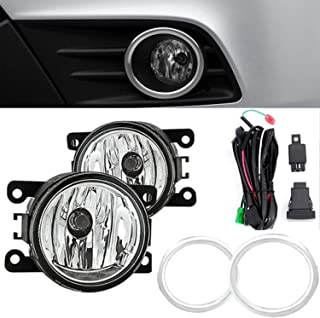 RP Remarkable Power, FL7034 Fit for 2012 2013 2014 2015 Pilot Front Pair Fog Lights Driver Bumper Lamps Clear Kit